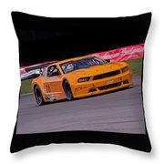 Mighty Mustang Throw Pillow