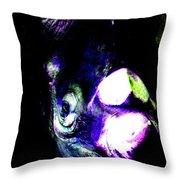 Mighty Rhino Throw Pillow