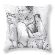 Migiwa Throw Pillow