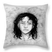 Migraine Throw Pillow