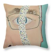 Migraine Scotomata Throw Pillow