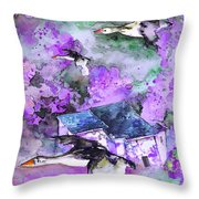 Migration 01 Throw Pillow