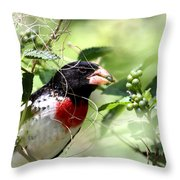 Migration Muchies Throw Pillow