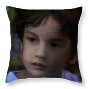 Miguel Achilles Throw Pillow