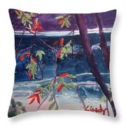 Miike Reflections-2 Throw Pillow