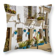 Mijas - Costa Del Sol   Spain Throw Pillow