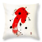 Mikado Rising Throw Pillow