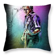 Mike Koch Throw Pillow