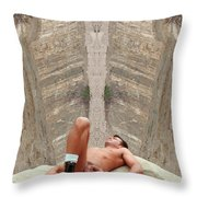 Mike L. 14-2 Throw Pillow