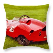 Mike's Super Cooper Throw Pillow
