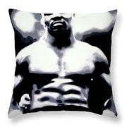 Mike Tyson Throw Pillow