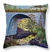 Mike's Keystone Bridge Throw Pillow