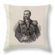 Mikhail Nikolaiavitch Throw Pillow
