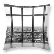 Milan Skyline Throw Pillow