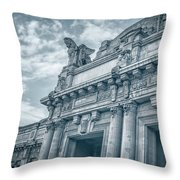 Milano Centrale II Throw Pillow