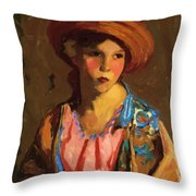 Mildred O Hat Throw Pillow