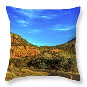 Mile 84 Throw Pillow