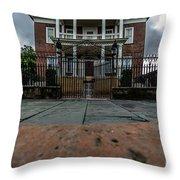 Miles Brewton House Circa 1765 Throw Pillow