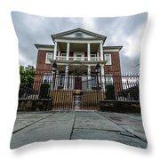 Miles Brewton House Throw Pillow