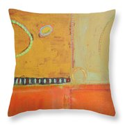 Miles From Home Throw Pillow