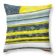 Miles To Go I Throw Pillow