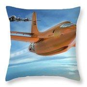 Milestone Bell X-1 Throw Pillow