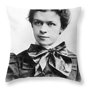 Mileva Maric (1875-1948) Throw Pillow