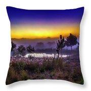Milfontes Sunrise Throw Pillow