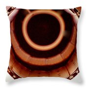 Military Fighter Jet Engine. Throw Pillow