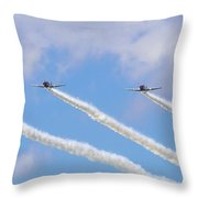 Military Planes Throw Pillow