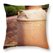 Milk Jug Throw Pillow