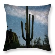Milky Way 2 Throw Pillow