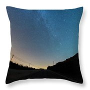 Milky Way Geres 5 Throw Pillow