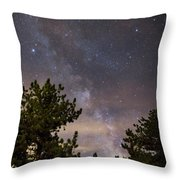 Milky Way I Throw Pillow