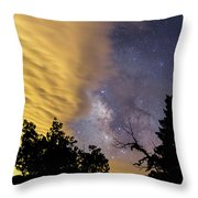 Milky Way Iv Throw Pillow