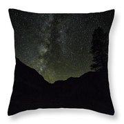 Milky Way Lee Vining Area 2 Throw Pillow