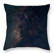Milky Way Throw Pillow