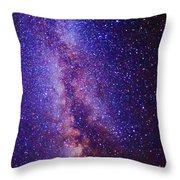 Milky Way Splendor Vertical Take Throw Pillow