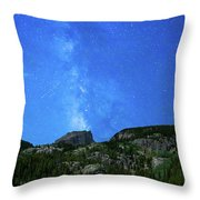Milky Way Vi Throw Pillow