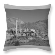 Mill And Stacks Throw Pillow