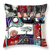 Mill Avenue Throw Pillow