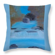Mill In The Woos Throw Pillow
