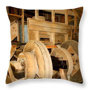 Mill Mechanism Throw Pillow