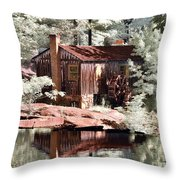 Mill Pond Dreamscape Throw Pillow