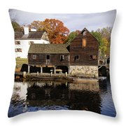 Mill Reflections Throw Pillow