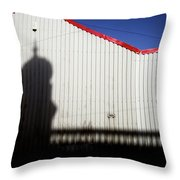 Mill Town Throw Pillow