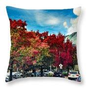 Mill Valley Autumn Throw Pillow