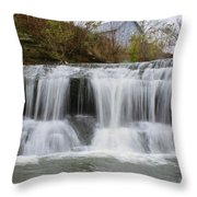 Mill Waterfall Throw Pillow
