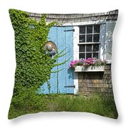 Mill Way Scene Throw Pillow