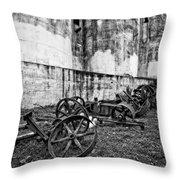 Mill Wheels Throw Pillow